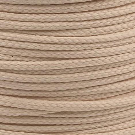 Polyester cord  - sand, Ø4mm