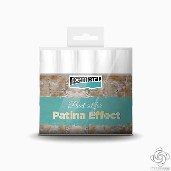 Patina effect paint set