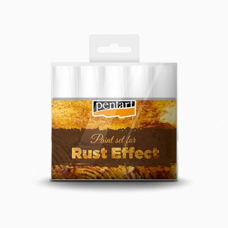 Rust effect paint set