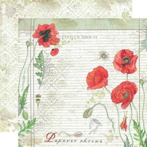 Kétoldalas scrapbook papír - SBB-504