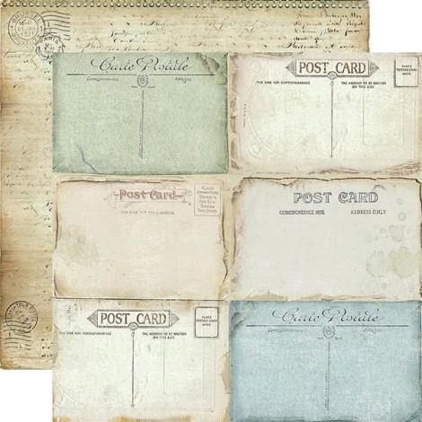 Kétoldalas scrapbook papír - SBB-509