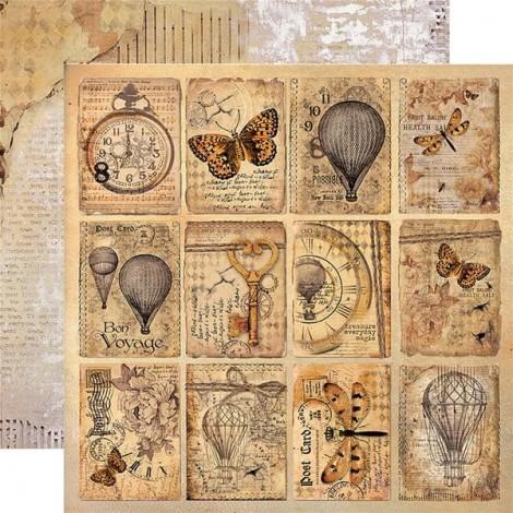Kétoldalas scrapbook papír - SBB-510