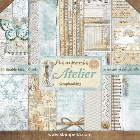 Scrapbook papír tömb - Atelier