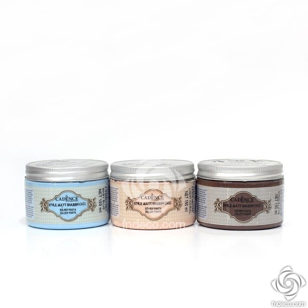 Shabby Chic Relief Paste, 150 ml