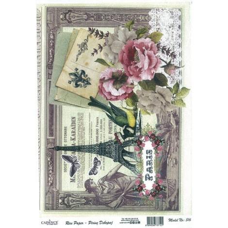Rice Paper Napkins - A4 - M516