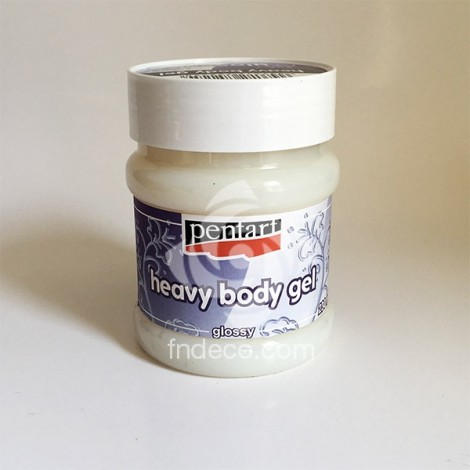 Heavy Body Gel - glossy, 230 ml