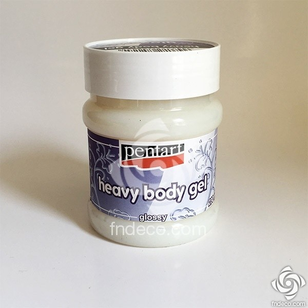 Heavy Body Gel - glossy, 230 ml