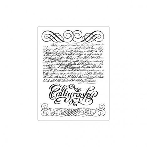 Gumi nyomda – Calligraphy