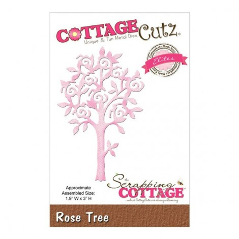 Vágósablon - Cottage Cutz - Rose Tree