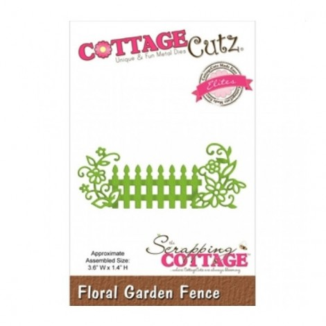 Vágósablon - Cottage Cutz - Garden Fence