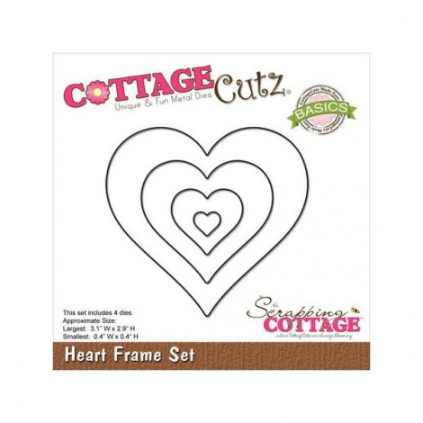 Cottage Cutz - Heart Set