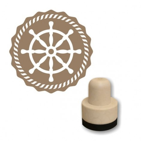 Foam stamp - Ship's wheel