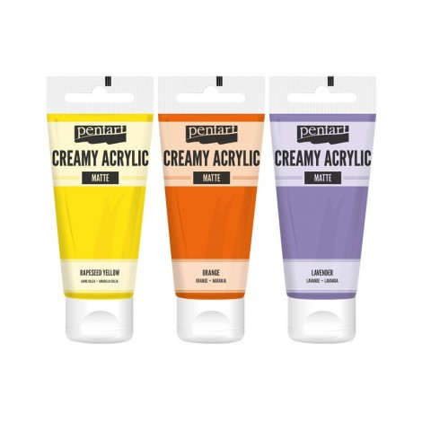 Creamy acrylic paint,matte, 60 ml