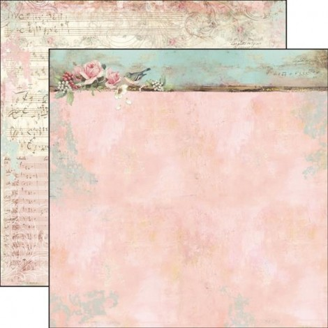 Double-sided Scrapbook Paper - SBB-517