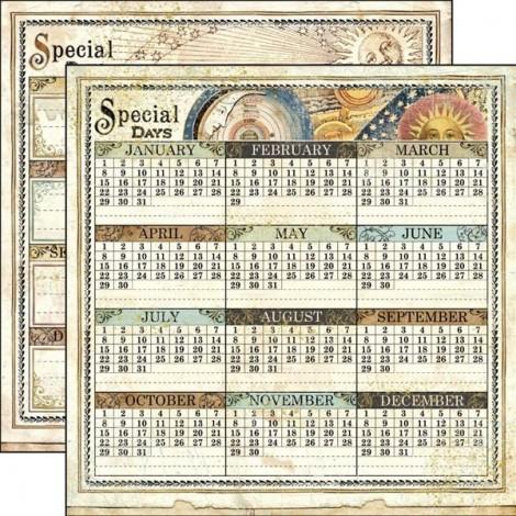 Kétoldalas scrapbook papír - SBB-528