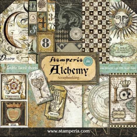Scrapbook papír tömb - Alchemy Collection