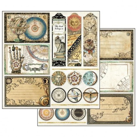 Scrapbooking Paper Pack - Alchemy Collection