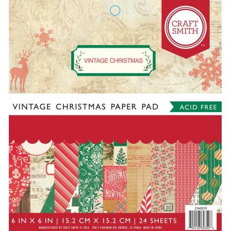 Vintage Christmas papírtömb