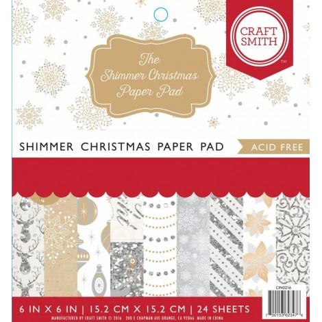 The Shimmer Christmas papírtömb