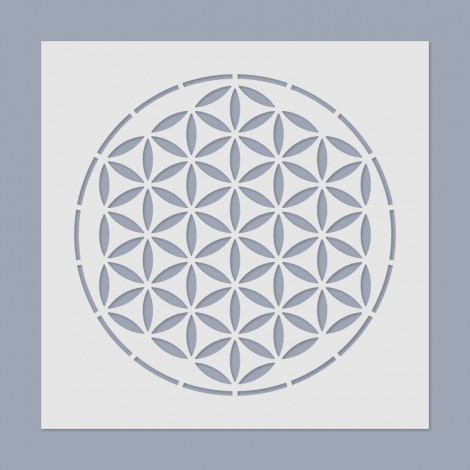 Stencil - The Flower of Life