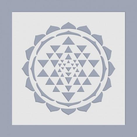 Stencil - Sri Yantra
