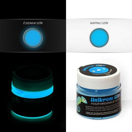 UnikromGlow acrylic paint - skyblue (30g)