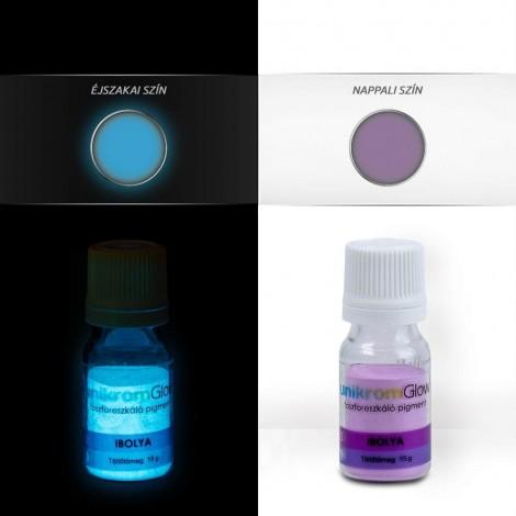 UnikromGlow foszforeszkáló festékpigment - ibolya (15g)