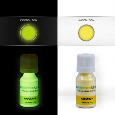 UnikromGlow Decor Paint Pigment Powder - sun yellow (15g)
