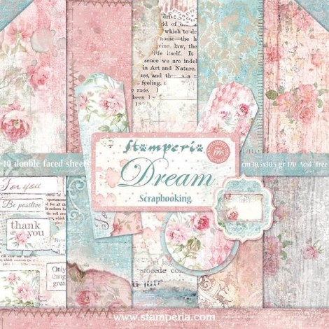 Scrapbook papír tömb - Dream Collection