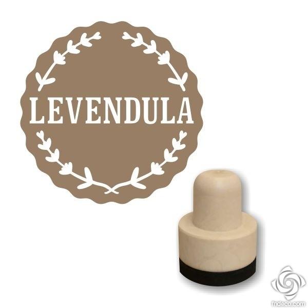 Foam stamp - Levendula