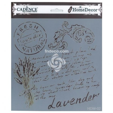 Home Decor Stencil - HDM-02