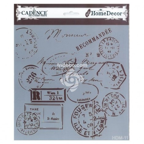 Home Decor Stencil - HDM-11