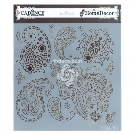 Home Decor Stencil - HDM-107