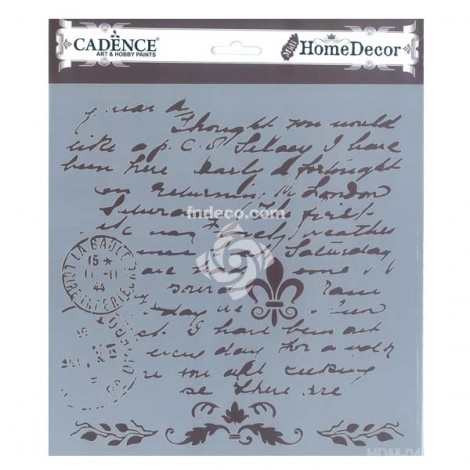Home Decor Stencil - HDM-04