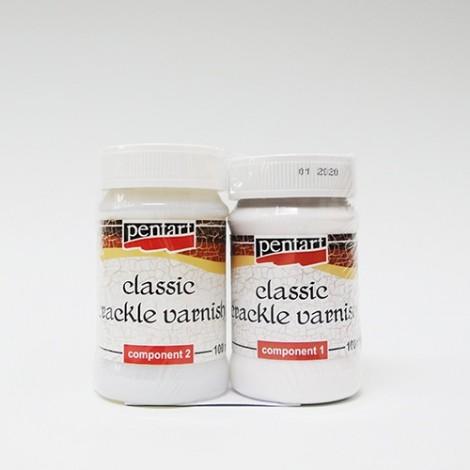 Kétkomponensű klasszikus repesztőlakk, 100 ml