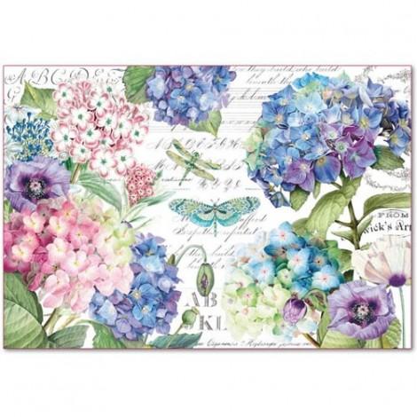 Rice Paper Napkins - 48x33 cm - DFS398