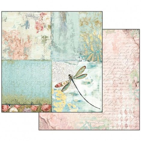 Kétoldalas scrapbook papír - SBB-538