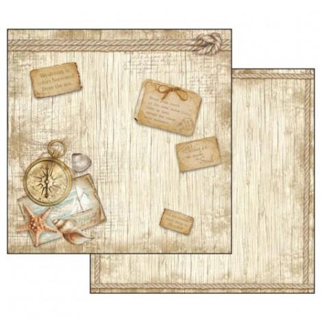 Kétoldalas scrapbook papír - SBB-540