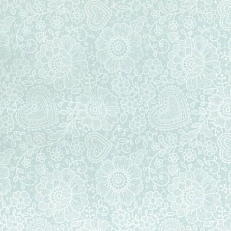 Felt sheet - spring pattern 01