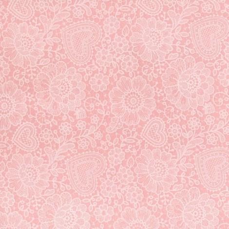 Felt sheet - spring pattern 02