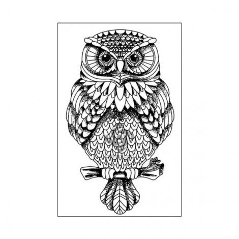 Gumi nyomda - Owl