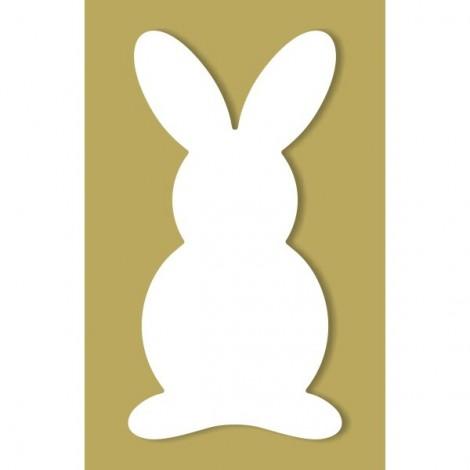 Dekorhab forma - Nyuszi, 20 cm
