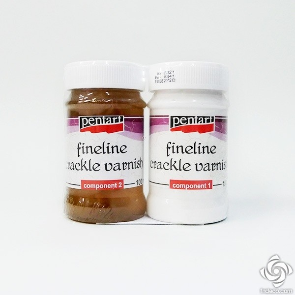 Fineline crackle varnish, 100 ml
