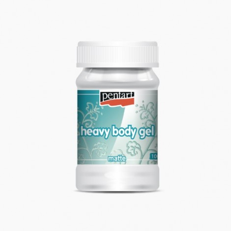 Heavy Body Gel - Sűrű gélpaszta - matt, 100 ml