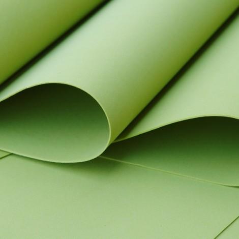 Foamiran, oliva, 30x35cm
