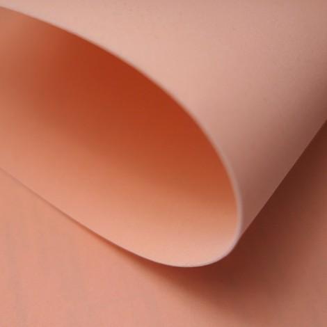 Foamiran, peach, 30x35cm
