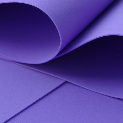 Foamiran, violet, 30x35cm