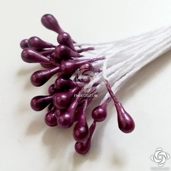 Flower stamen - Mauve
