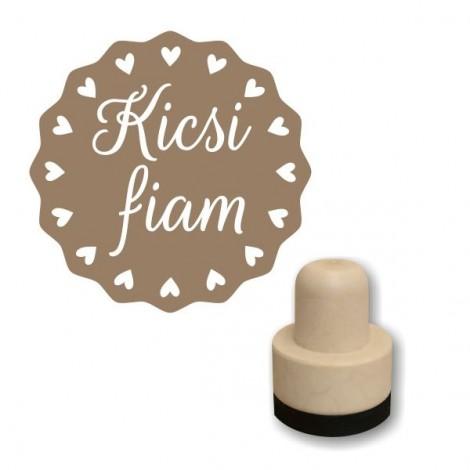 Foam stamp - Kicsi fiam