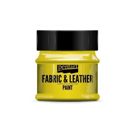 Pentart Fabric & Leather paint, 50 ml